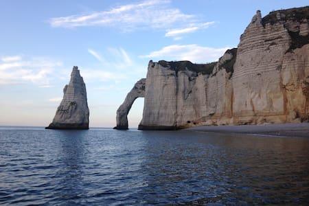 La Laumatima à deux pas de la plage d'Etretat - Dom