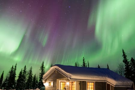 Perfect for seeing northern lights! - Muonio - House