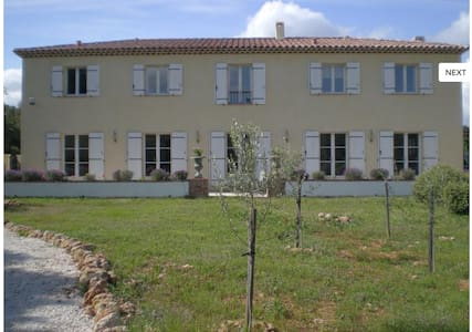 Beautiful Provencal Home with pools - Flassans-sur-Issole - Huis