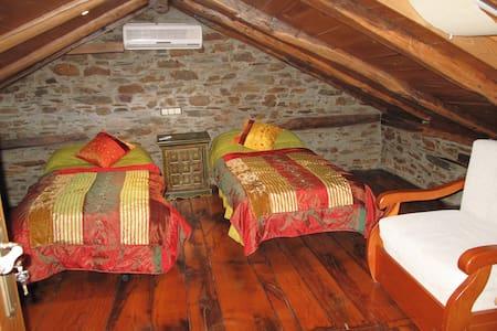 Casa do Catalán, habitación triple. - House