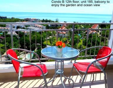12th floor condo great sea views - Cha-am - Lejlighedskompleks