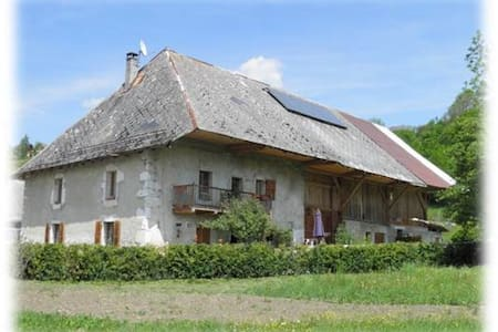 An authentic farm in the Bauges - Daire