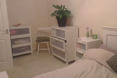 Bright Spacious Double Room with Parking - Rumah