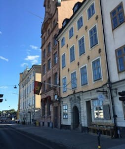 Extraordinary home in Old town, B&B and sea-view - Stockholm - Bed & Breakfast