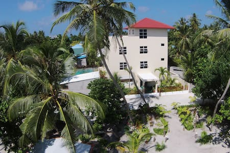 We are 13 room budget boutique guesthouse from Maldives dedicated to divers. We offer rooms with modern facilities and amenities in affordable price. Our Diving packages are the best rate in Maldives. We have over 50 dive sites just in hour reach.