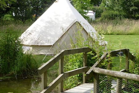 Harry is a Wonderful Bell Tent! - Builth Wells - Tent