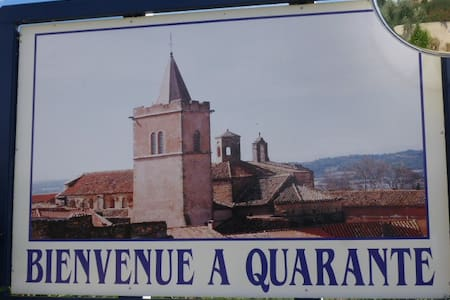maison de village toute équipée près de Béziers - Haus
