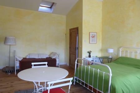 Suite avec chambre 30m2 , salle de bain, wc privés - House