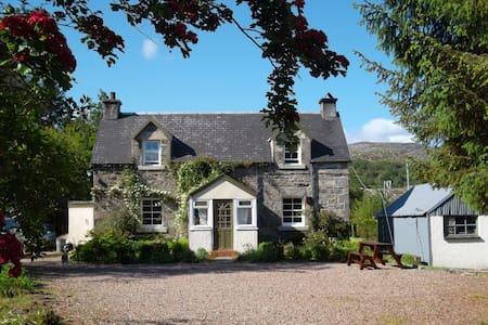Secluded West Highland Croft, - Arivegaig