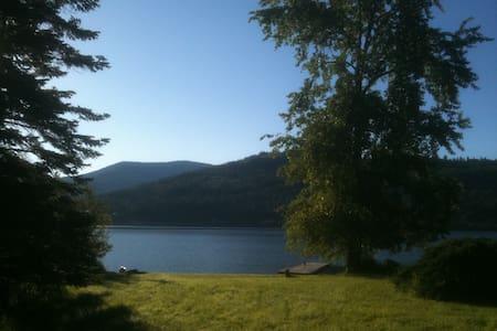 Lakefront Cabin (1.2 off highway) - Kisház