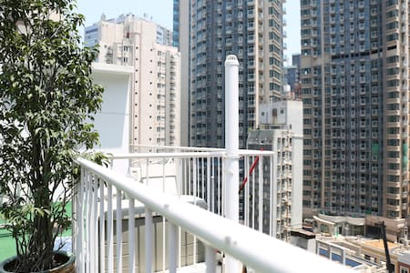 Airy 1BR Wanchai Apartment+Rooftop