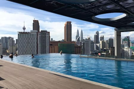 City View from Cozy SOHO @ Jln Pudu, KL - Kuala Lumpur - Wohnung