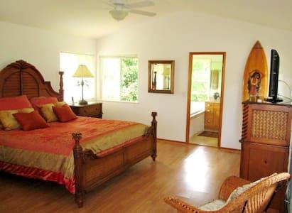 North Shore Paradise - Master Suite - Dom