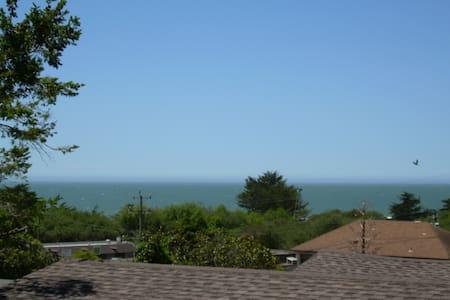 Ocean View-Sleep to Breaking Waves! - Stinson Beach - Hus
