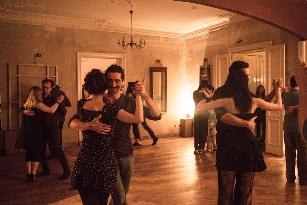 The 1st or 2nd Saturday of every month there is a tango party ( La Milonga Incanto). You may have a chance to meet some of the world best tango dancers here !