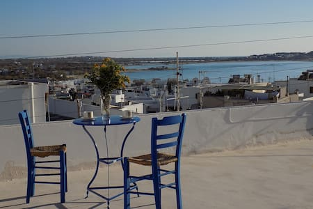 My home in Naxos town with sea view - Rumah