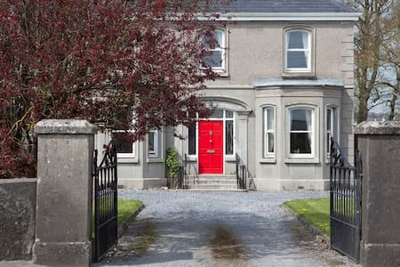 Our house is a warm Edwardian detached house in the heritage town of Athenry with excellent transport links via car train or bus. We are 10 minutes walk to Athenry Railway Station which has frequent trains to Galway Dublin and Limerick.