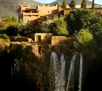 Riad Cascades Ouzoud 2 h Marrakech