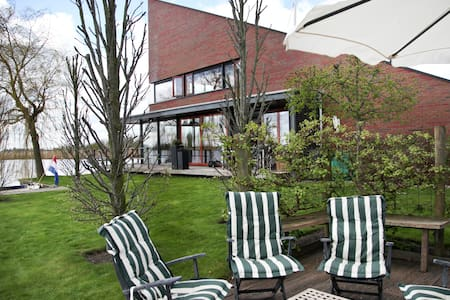 Watervilla Bed,Brood en Bootje - Bed & Breakfast