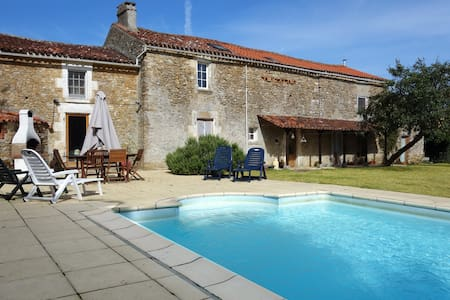 The French Forge - Holiday Home/Villa - Bazoges-en-Pareds, La  Vendée