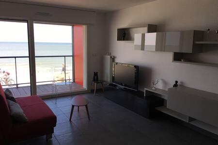 appartement vue sur mer avec terrasse - Dunkerque - Lägenhet
