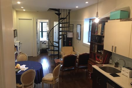 One bedroom in five-room duplex - Brooklyn - Apartamento