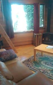 """Hillside """"birdhouse"""" cabin in the trees - Seattle - Chalet"""