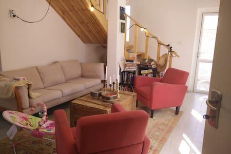 2.5 Bedroom Sunny Duplex-Tekoa A - Tekoa