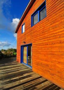 Plages DDays, maison bois moderne - Martragny