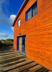 Plages DDays, maison bois moderne - House