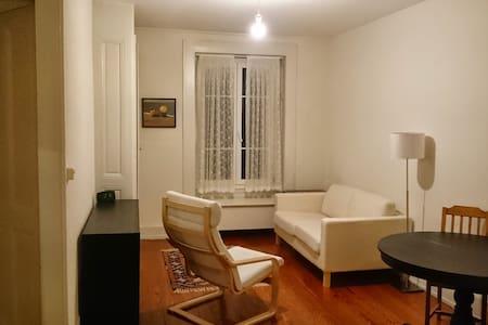 Nice flat & district, near center - Geneva - Apartment