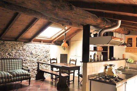 Ampia mansarda in palazzo del '600 - Wohnung