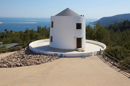 Cozy windmill with stunning views - Setúbal Municipality - Bed & Breakfast