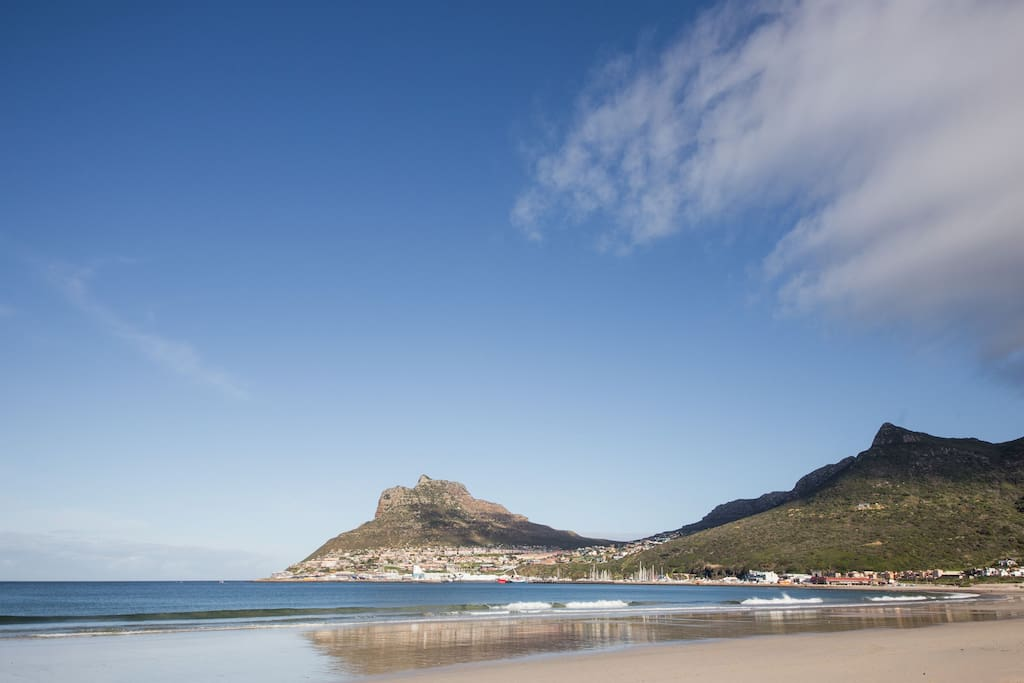 Hout Bay beach the complex is right on this beach
