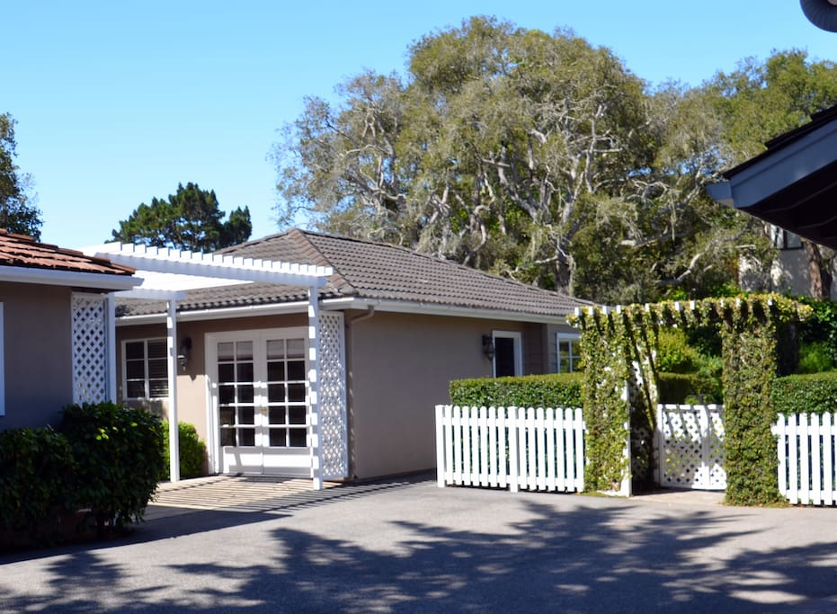Guest House & Yard Gate