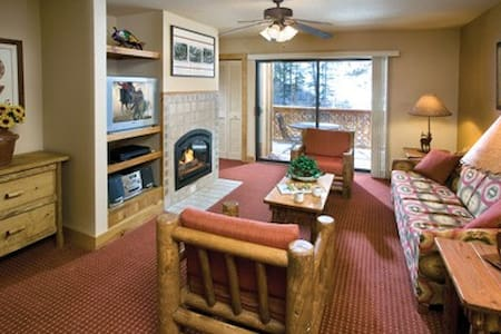 This is a beautiful resort and offers ski in/ski out lodging. Perfect getaway for your Thanksgiving holiday. This unit sleeps six guests and has two full bathrooms, your home away from home. Just bring your clothes, food, drinks & gear for your sport