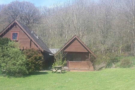 Pines Pitch Log Chalet - Bleddfa