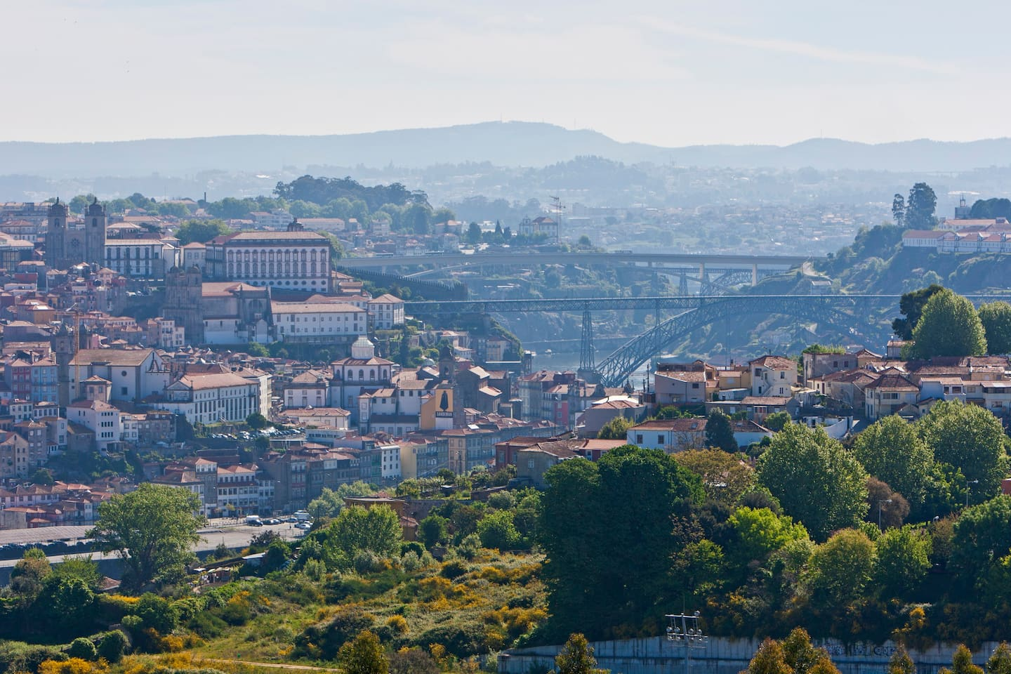 View of Porto historic center from the apartment windows!