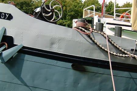 Cabin 3 onboard Passengership Ahoy - Bed & Breakfast