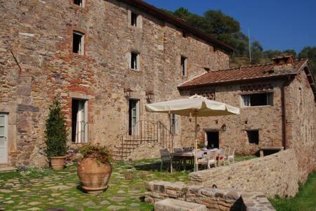 5 bd, lawns, gardens, views - Capannori