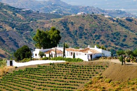 4 bd, vineyard, garden, fireplace - Vélez-Málaga - Villa