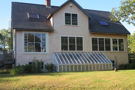 Double bedroom,  House, Field, Shorefront, Oaks - Sedgwick - Dom
