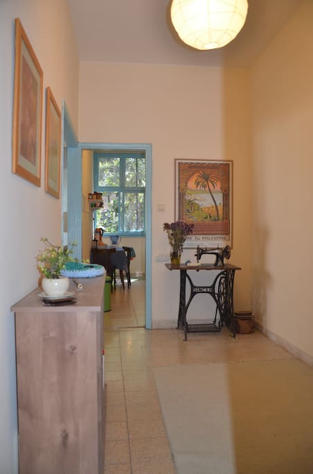 Our welcoming entrance room.