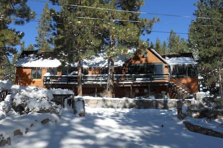 Incredible Charming Lake Tahoe Cabin - Glenbrook - Rumah