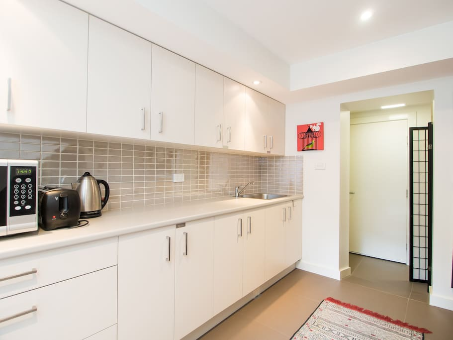 Fully equipped kitchenette (share with 1 other)