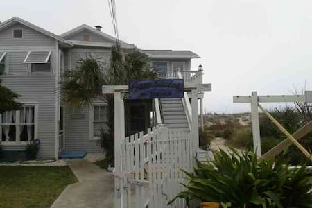 Ocean front home w/large deck Fernandina Beach, FL - Fernandina Beach - Apartment