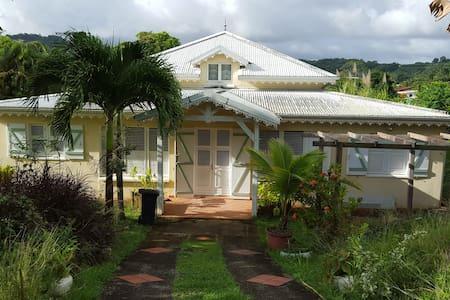 Villa créole - Ch. d'hôte  Vanille - Bed & Breakfast