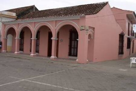 "TLACOTALPAN ""El Deseo"" / 1 Bedroom - Centro, Tlacotalpan - Casa"