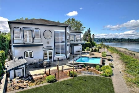 US Open Chambers Bay Waterfront Hom - Maison
