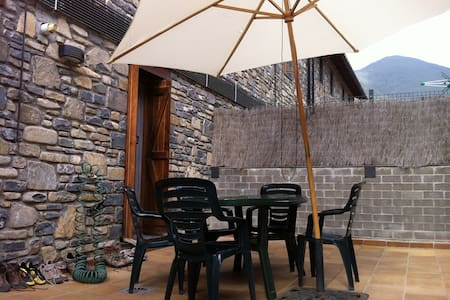 Villanúa, apartamento con terrazas - Villanúa - Apartament